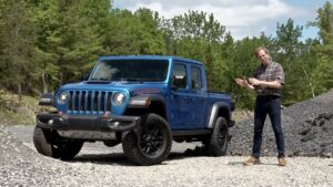 2020 Jeep Gladiator Mojave 4X4 Review By Car Critic Steve Hammes