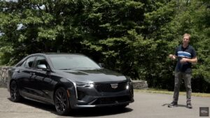 2020 Cadillac CT4 V Series Review By Car Critic Steve Hammes