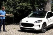 2020 Ford Escape Hybrid Review By Car Critic Steve Hammes