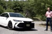 2020 Toyota Avalon TRD Test Drive & Review By Car Critic Steve Hammes