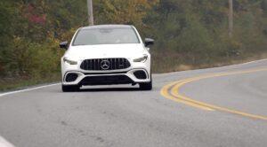 2020 MERCEDES AMG CLA45 TEST DRIVE BY STEVE HAMMES