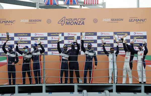 UNITED AUTOSPORTS SEAL 2020 EUROPEAN LE MANS SERIES CHAMPIONSHIP WITH FIRST EVER ELMS LMP2 1-2 FINISH