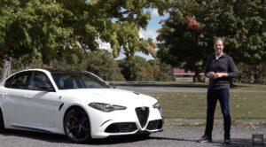 2020 Alfa Romeo Giulia QuadrifoglioTest Drive By Steve Hammes