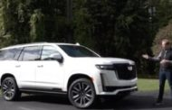 2021 CADILLAC ESCALADE  TEST DRIVE BY STEVE HAMMES