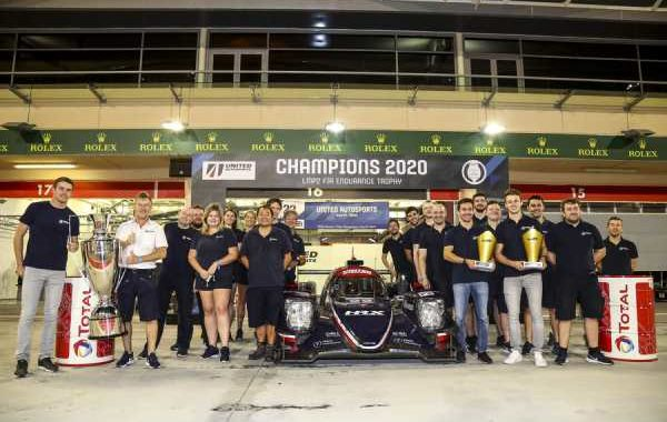 UNITED AUTOSPORTS CONFIRMED AS FIA WORLD ENDURANCE LMP2 CHAMPIONS AT BAHRAIN