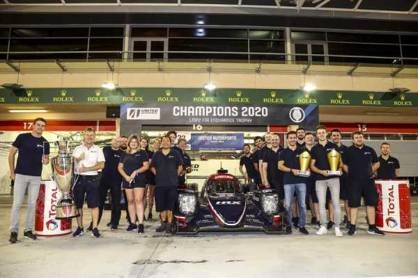 UNITED AUTOSPORTS CONFIRMED AS FIA WORLD ENDURANCE LMP2 CHAMPIONS AT BAHRAIN