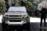 2020 LAND ROVER DEFENDER TEST DRIVE BY STEVE HAMMES