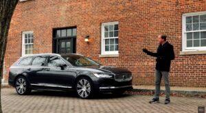 2021 Volvo V90 Inscription TEST DRIVE By Car Critic Steve Hammes