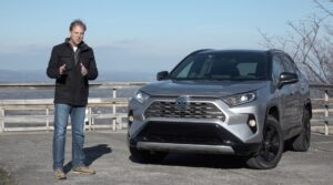 2021 Toyota RAV4 XSE Hybrid TEST DRIVE By Steve Hammes