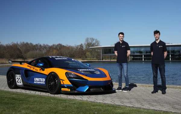 BAILEY VOISIN AND CHARLIE FAGG TO JOIN UNITED AUTOSPORTS GT4 TEAM