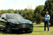 2021 ASTON MARTIN DBX TEST DRIVE BY STEVE HAMMES