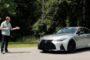 2021 LEXUS IS 350 F SPORT TEST DRIVE BY STEVE HAMMES